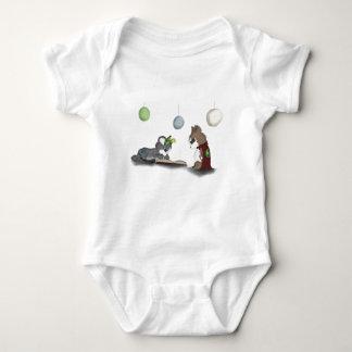 Not All Heros .. Monster Digital Art Baby Bodysuit