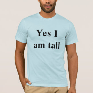 Not All tall People Play Basketball T-Shirt