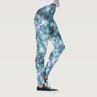 Not All That Glitters Gem Image Workout Wear Leggings