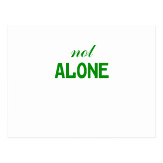 Not Alone Postcard