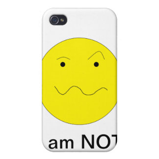 Not Amused iPhone 4 Cover