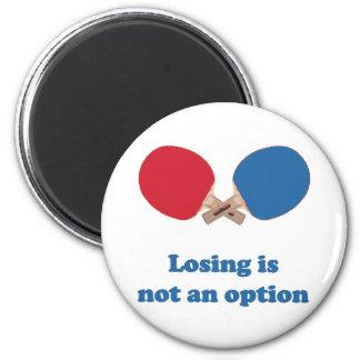 Not an Option Ping Pong Fridge Magnet