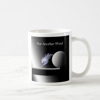 Not Another Word Basic White Mug