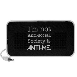 Not Anti Social PC Speakers