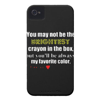 Not Brightest Crayon but Favorite iPhone 4 Case