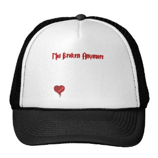 Not Broken Anymore - Emo Alternative Grunge Rock Trucker Hat