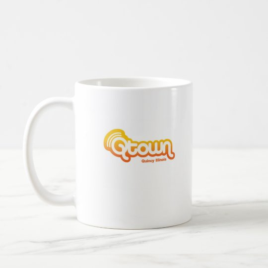not by chicago, qtown coffee mug