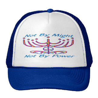Not by Might Hats