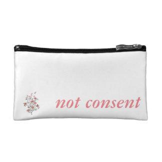 Not Consent Makeup Bag
