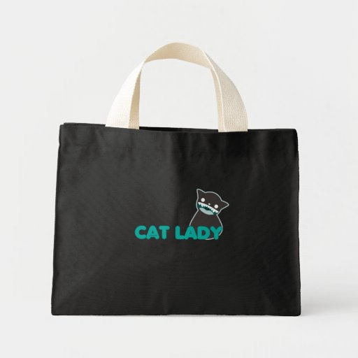 Not Crazy Cat Lady Canvas Bag