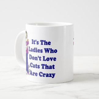 (Not Crazy) Cat Lady Jumbo Mug