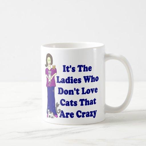 (Not Crazy) Cat Lady Coffee Mugs