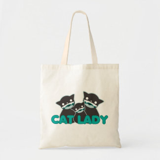 Not Crazy Cat Lady (multi cats) Bags