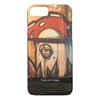 Not creepy mushroom iPhone 8/7 case