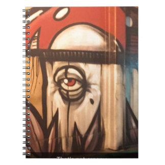 Not Creepy Mushroom Notebook