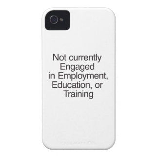 Not currently Engaged in Employment ai iPhone4 Case