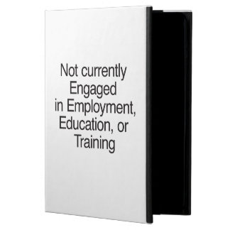 Not currently Engaged in Employment ai Case For iPad Air