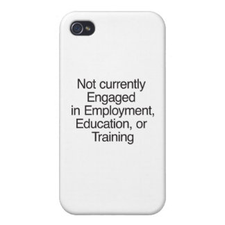 Not currently Engaged in Employment ai iPhone 4 Covers