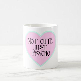 Not cute just Psycho blue+pink mug
