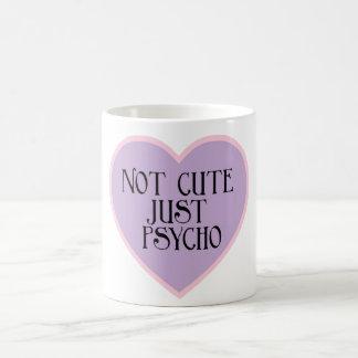 Not cute just Psycho pink+purple mug