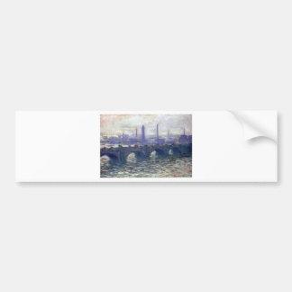 NOT DETECTED by Claude Monet Bumper Sticker
