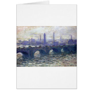 NOT DETECTED by Claude Monet Greeting Card