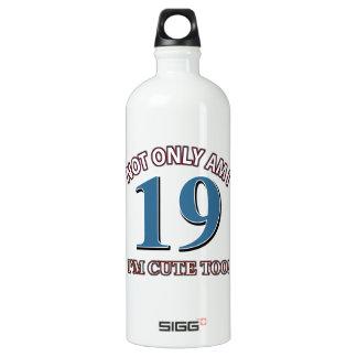 Not easy 19 years design SIGG traveller 1.0L water bottle