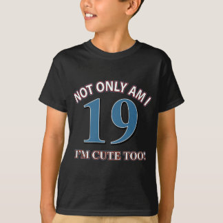 Not easy 19 years design T-Shirt