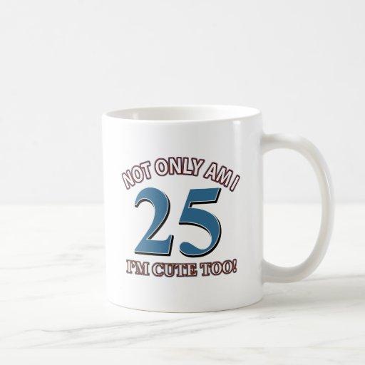 Not easy 25 years design coffee mug