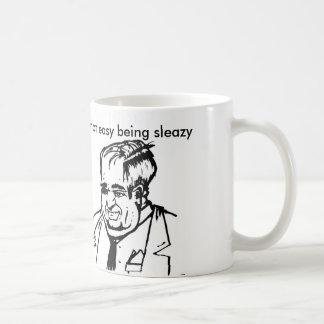 not easy coffee mug