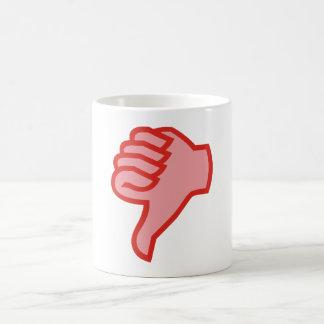 not emergency OK thumb down thumbs down Coffee Mug