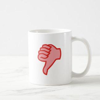 not emergency OK thumb down thumbs down Coffee Mugs