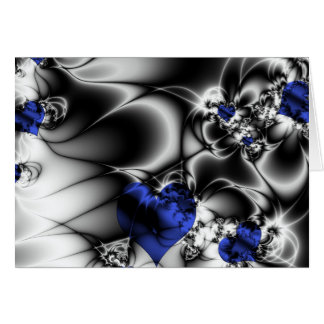 Not Everything Is Black And White, Blue Hearts Card