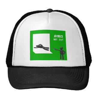 Not exit trucker hats