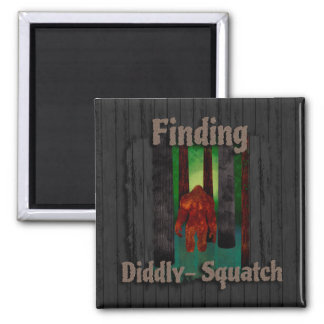 not finding bigfoot square magnet