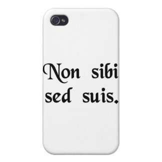 Not for one's self but for one's people. iPhone 4/4S cases