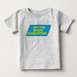 Not For Zombie Consumption (label) Shirts