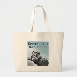 Not Found Canvas Bag