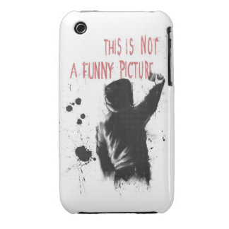 Not funny iPhone 3 Case-Mate case
