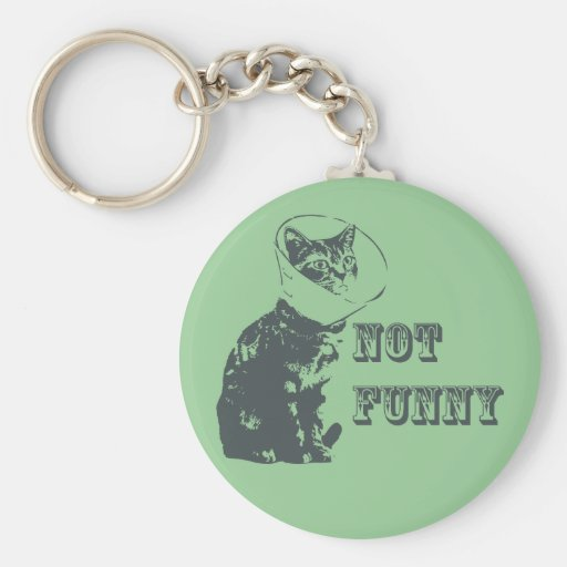 Not Funny Keychain