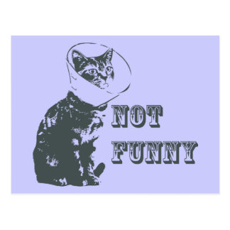 Not Funny Postcards