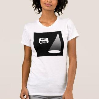 Not Funny Theater Lighting Women's Light T T-Shirt