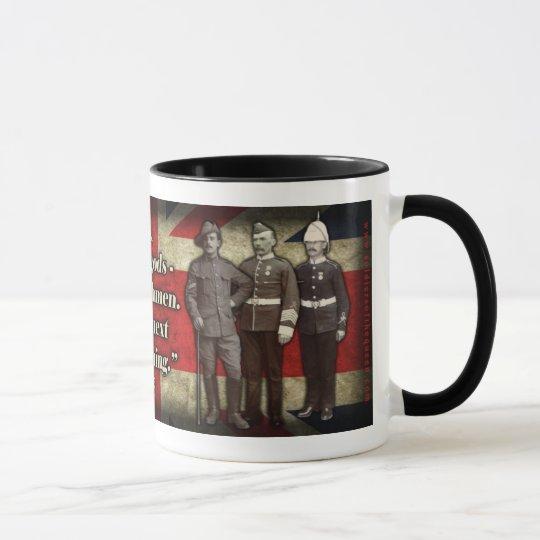 """Not Gods, Englishmen"" Coffee Mug"