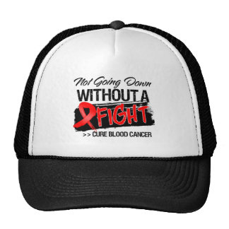 Not Going Down Without a Fight - Blood Cancer Mesh Hat