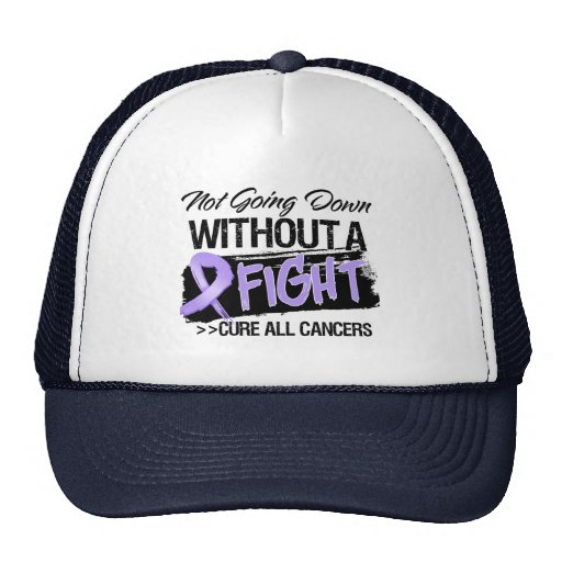 Not Going Down Without a Fight - Cancer Trucker Hats