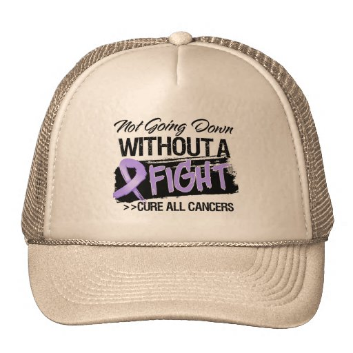 Not Going Down Without a Fight - Cancer Mesh Hats