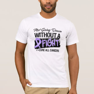 Not Going Down Without a Fight - Cancer T-Shirt