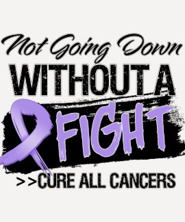 Not Going Down Without a Fight - Cancer Tees