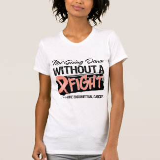 Not Going Down Without a Fight Endometrial Cancer Tees