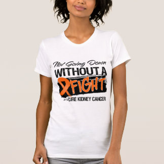 Not Going Down Without a Fight - Kidney Cancer v2 Tshirt